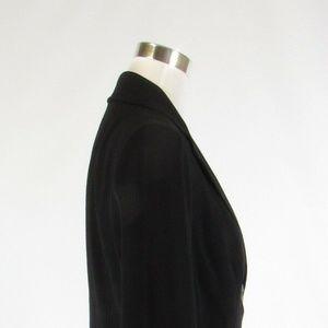Magaschoni Jackets & Coats - Magaschoni black long sleeve jacket 10
